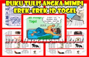 Buku Tulis Angka Mimpi Erek Erek Togel
