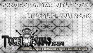 Prediksi Angka Jitu Togel Minggu 1 Juli 2018