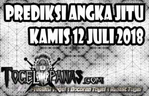 Prediksi Angka Jitu Togel Kamis 12 Juli 2018