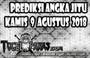 Prediksi Angka Jitu Togel Kamis 9 Agustus 2018