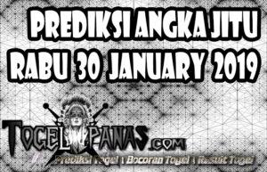 Prediksi Angka Jitu Togel Rabu 30 January 2019