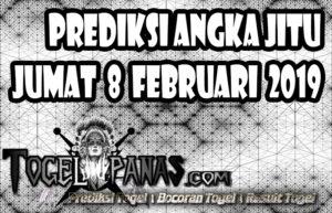 Prediksi Angka Jitu Togel Jumat 8 Februari 2019