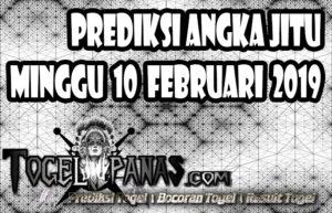 Prediksi Angka Jitu Togel Minggu 10 Februari 2019