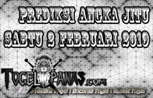 Prediksi Angka Jitu Togel Sabtu 2 Februari 2019