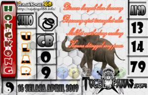 Prediksi Angka Jitu HK Selasa 16 April 2019
