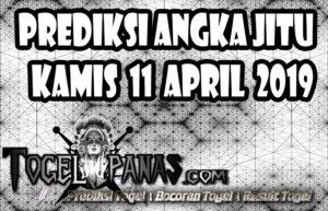 Prediksi Angka Jitu Togel Kamis 11 April 2019