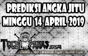 Prediksi Angka Jitu Togel Minggu 14 April 2019