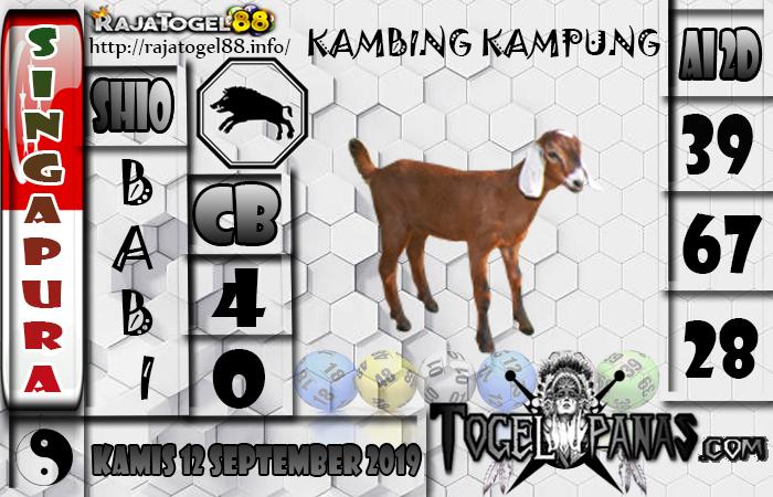 Prediksi Angka Jitu Sgp Kamis 12 September 2019