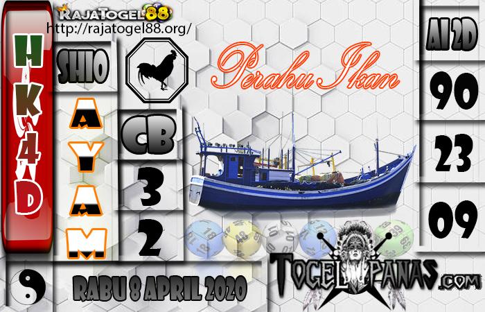 Prediksi Togel HK4D 8 April 2020