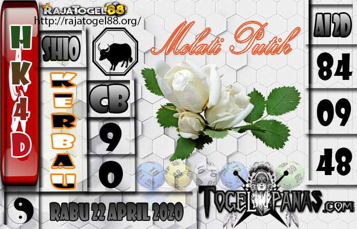 Prediksi Togel HK4D 22 April 2020