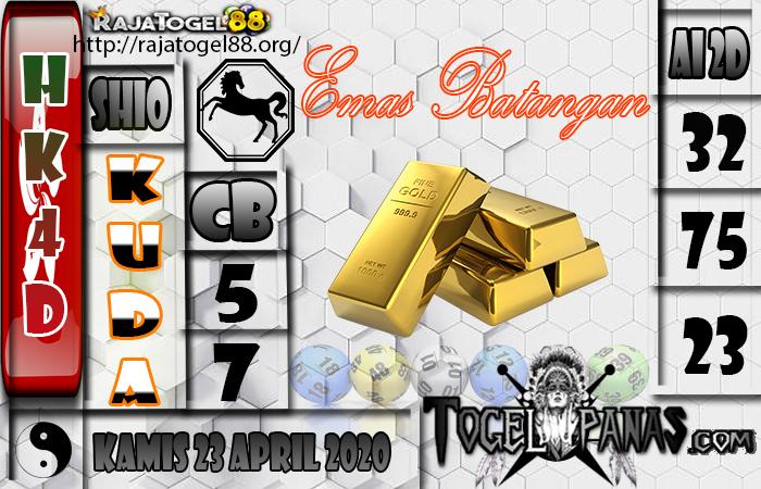 Prediksi Togel HK4D 23 April 2020