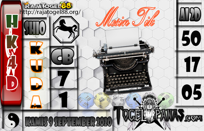 Prediksi Togel HK4D 9 September 2020